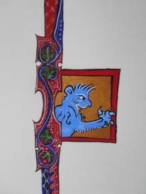 Blank Scroll 4 (detail B)